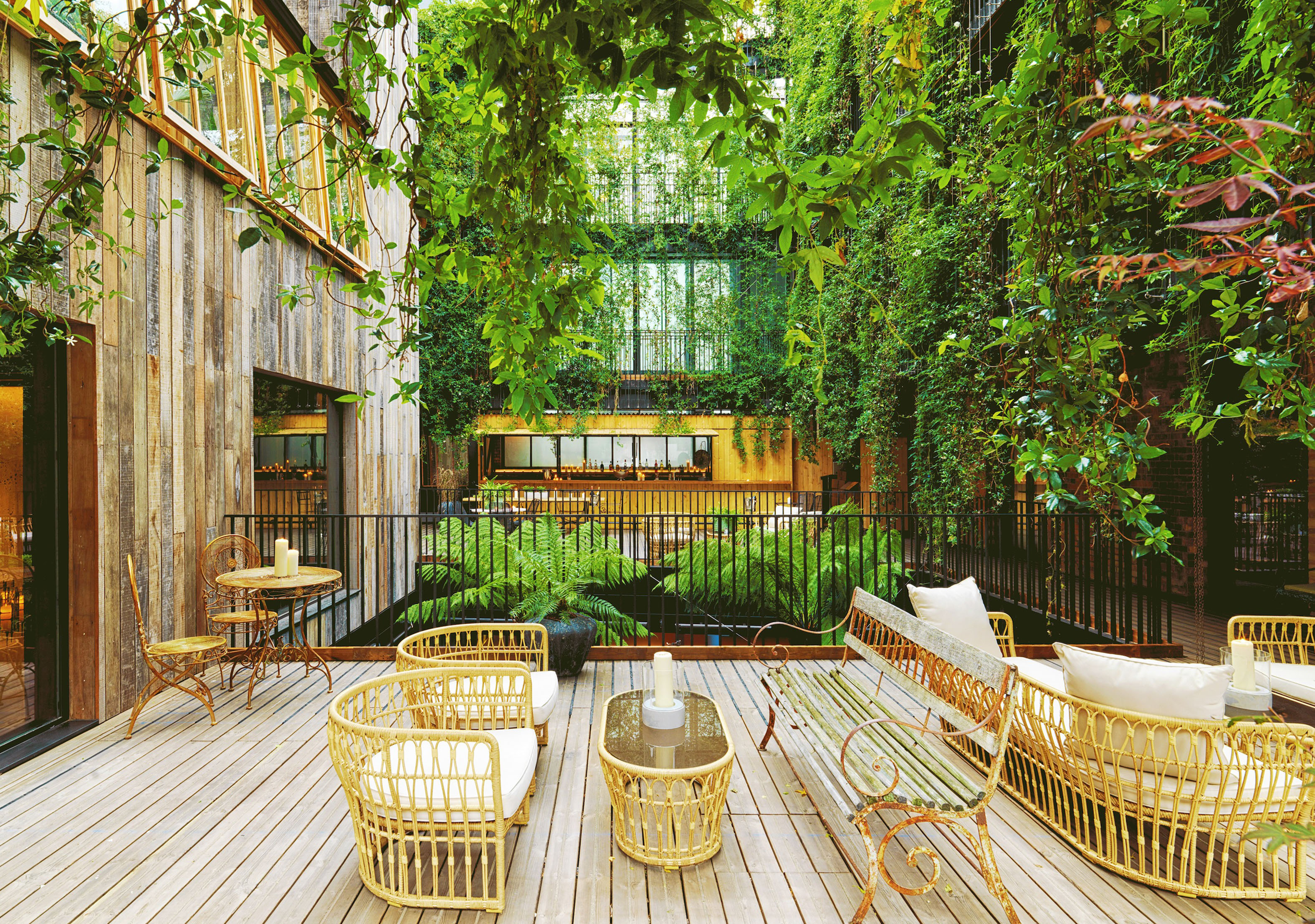 TOPHOTELDESIGN special: Hotels with stunning urban oasis spaces