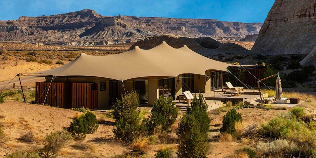 All about the alternative: Luxury Frontiers pitches its tents in Utah
