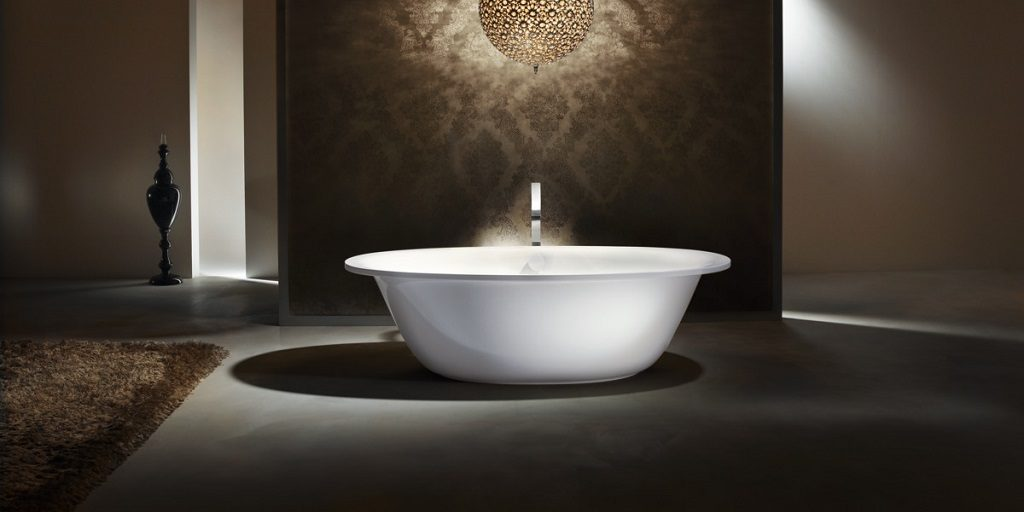 Glam factor bathroom: luxurious home trend