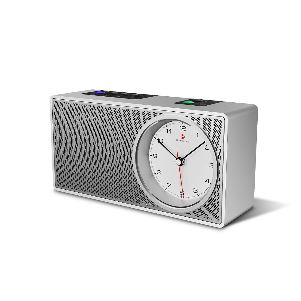 The new Robin Bluetooth Speaker Alarm Clock from Oliver Hemming