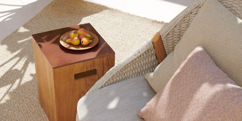 Shindi rugs – setting the scene with natural-look 3D weaving