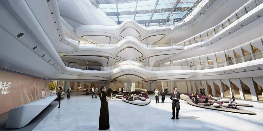 Zaha Hadid's architectural masterpiece ME Dubai opens to public [Infographic]