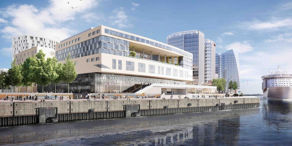 Está a punto de terminarse el impresionante proyecto de tres hoteles de 1.000 millones de euros en Hamburgo [Infografía]