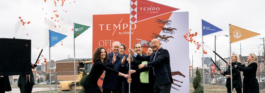 Comienza la construcción del primer Tempo by Hilton en Louisville, Kentucky