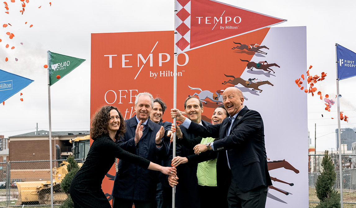 Construction of first-ever Tempo by Hilton begins in Louisville, Kentucky