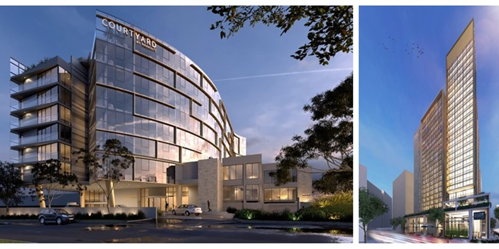 Two new Marriott properties signed in Sydney suburbs [Construction Report]