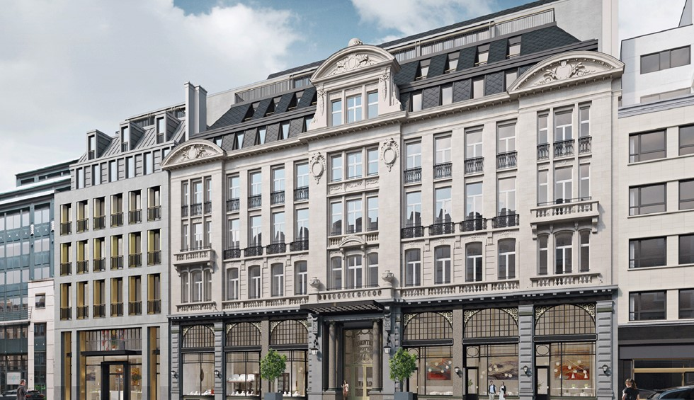 Corinthia dedicates €60 million to revamping Astoria hotel in Brussels