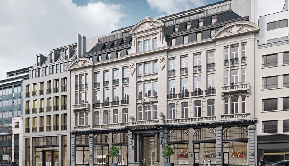 Corinthia dedicates €60 million to revamping Astoria hotel in Brussels