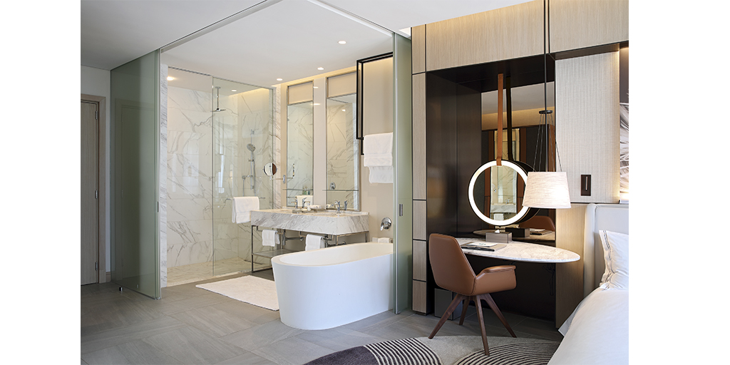 Dynamic partitioning for the Suites in the Johannesburg Houghton Hotel, Spa, Wellness & Golf