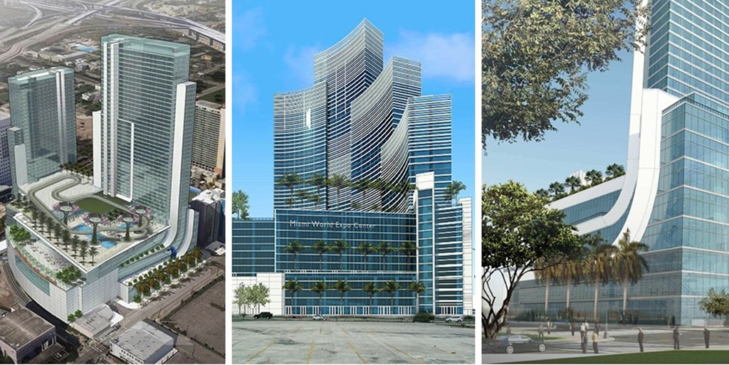 Project of the week: eye-catching Marriott Marquis Miami Worldcenter Hotel & Expo Center