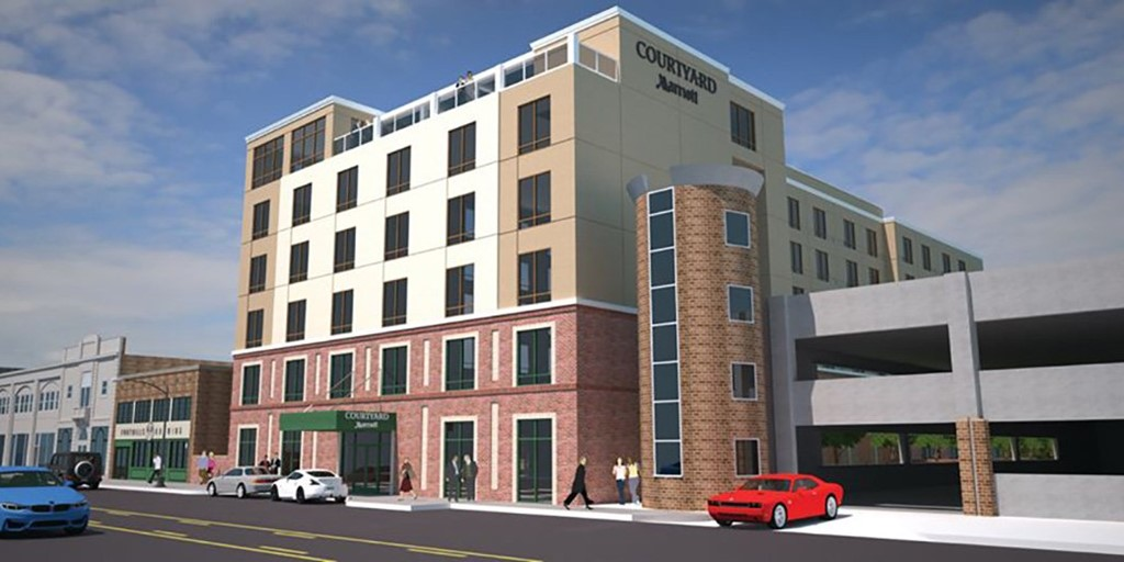 126-room Courtyard by Marriott hotel opens in North Carolina [Construction Report]
