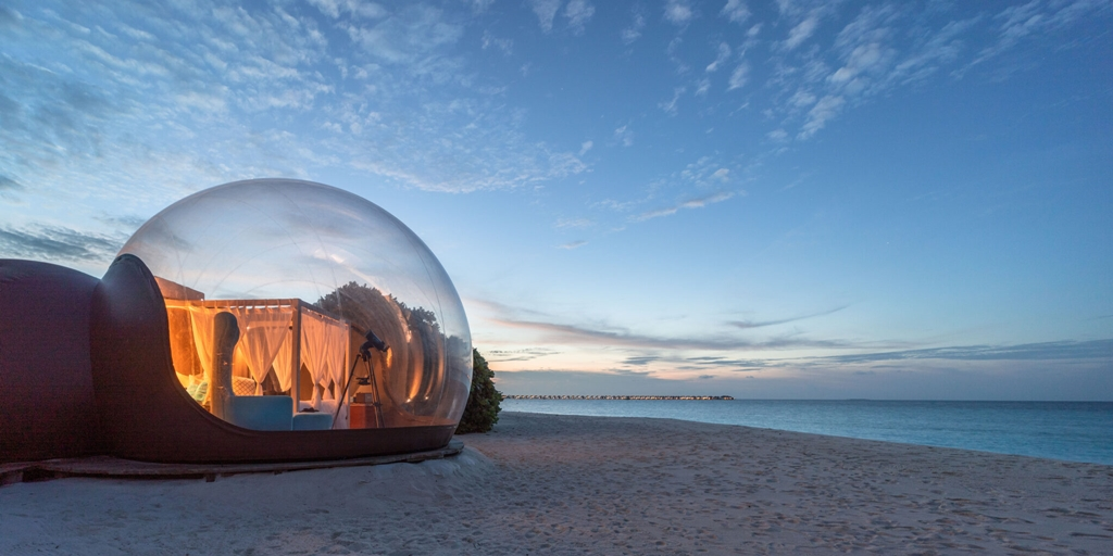 Maldives hotel to roll out 'Beach Bubble' perfect for social distancing