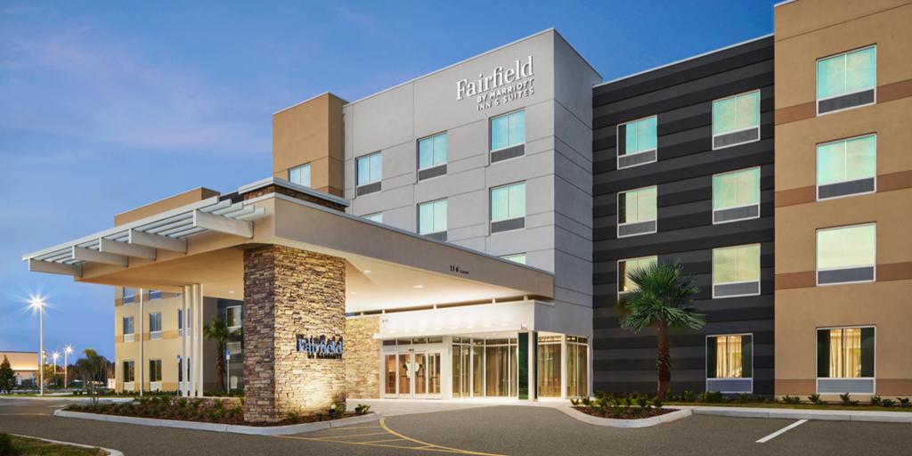 Florida le da la bienvenida el nuevo hotel Fairfield by Marriott [informe de construcción]