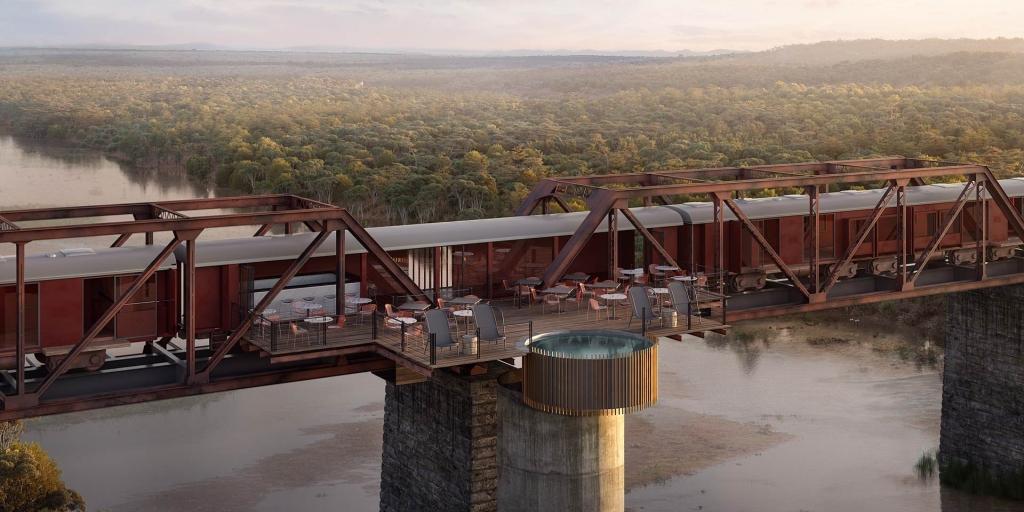 Expreso Kruger: El tren se convertirá en un espectacular hotel