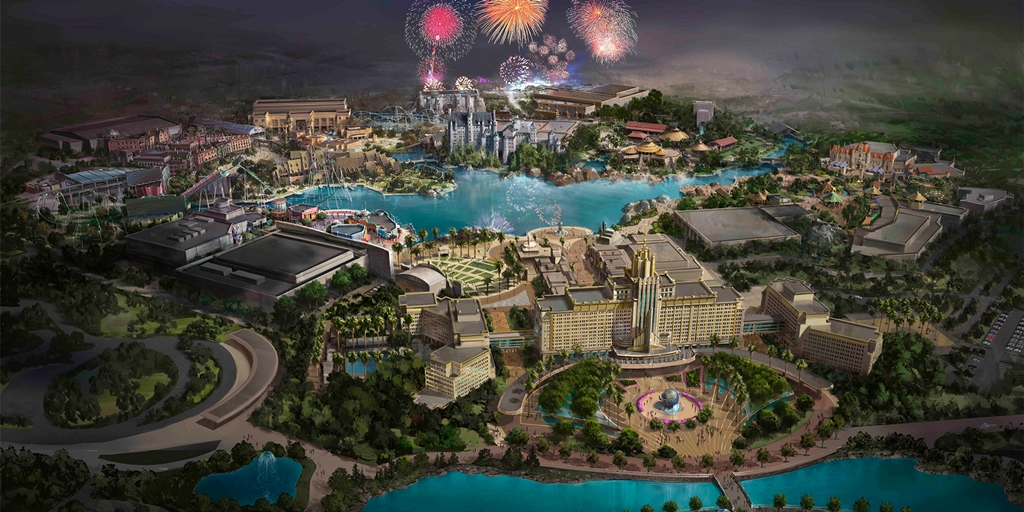 Lights, camera, action as Universal Beijing Resort unveils vision