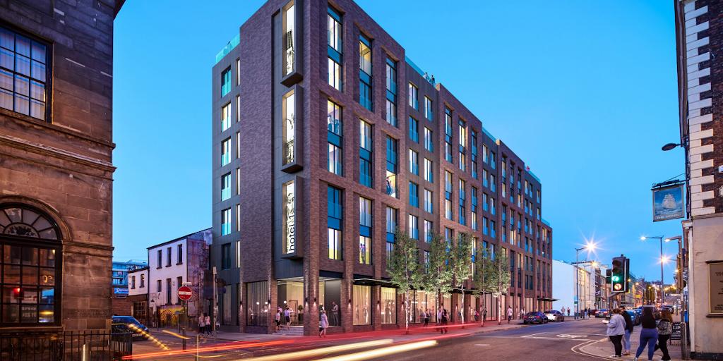 Arquitectos celebran el permiso de planificación de dos hoteles en Liverpool [infografía]