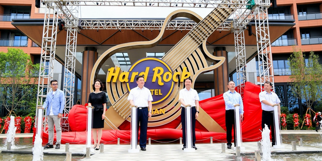 Hard Rock celebrates launch of its sophomore hotel in China