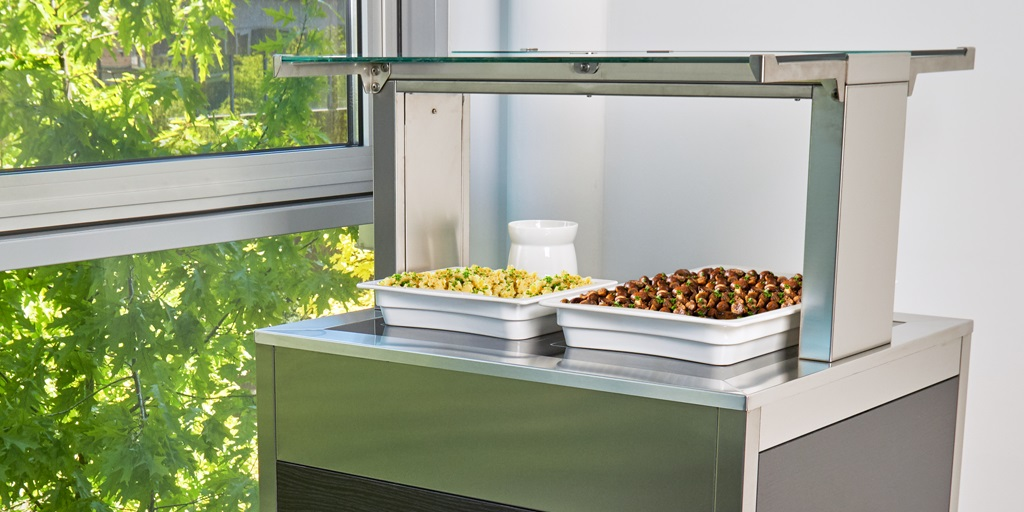 Smart buffet solutions: mobile, flexible, easy to clean