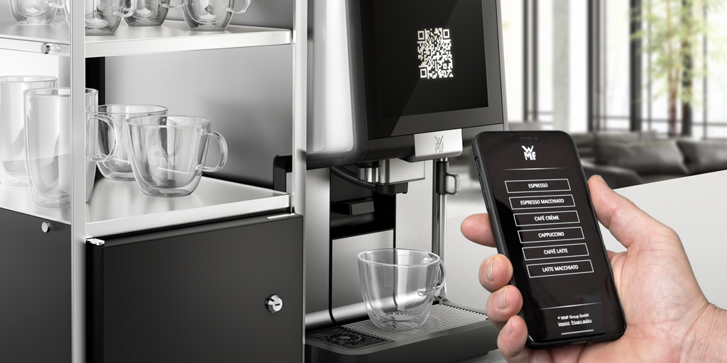 WMF SmartRemote self-service at its very best – contactless, hygienic and safe