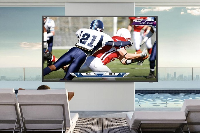 Samsung's Terrace Television
