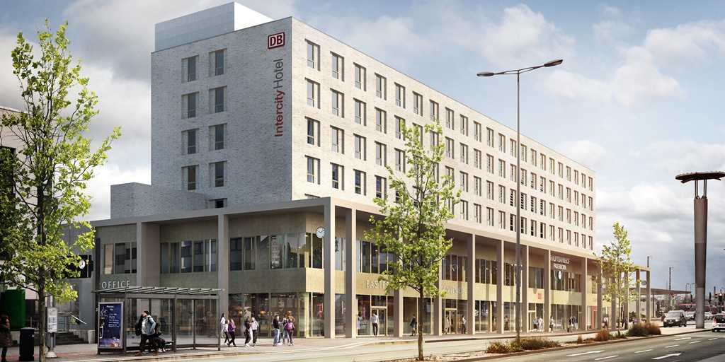 Deutsche Hospitality unveils plans for IntercityHotel Paderborn