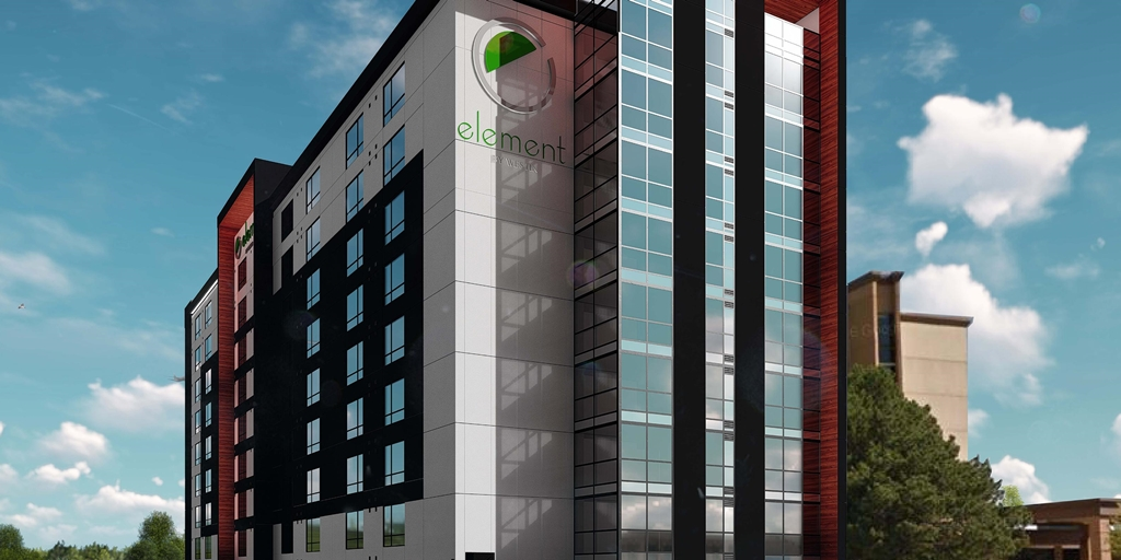 Eco-friendly Element Toronto Airport Hotel opens its doors