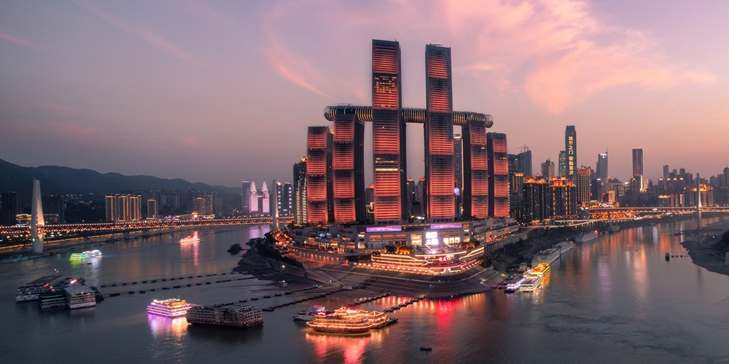 InterContinental Chongqing Raffles City opens its doors
