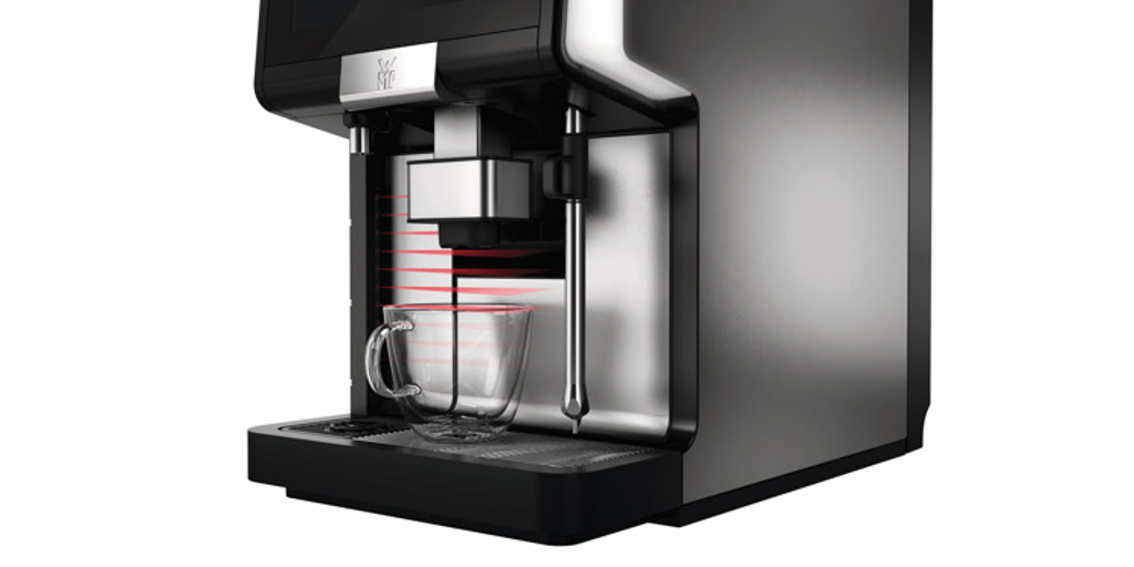 A truly smart coffee machine adapts to every cup