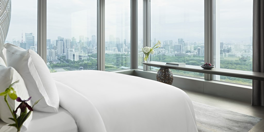 The all-new Four Seasons Hotel Tokyo at Otemachi is now open