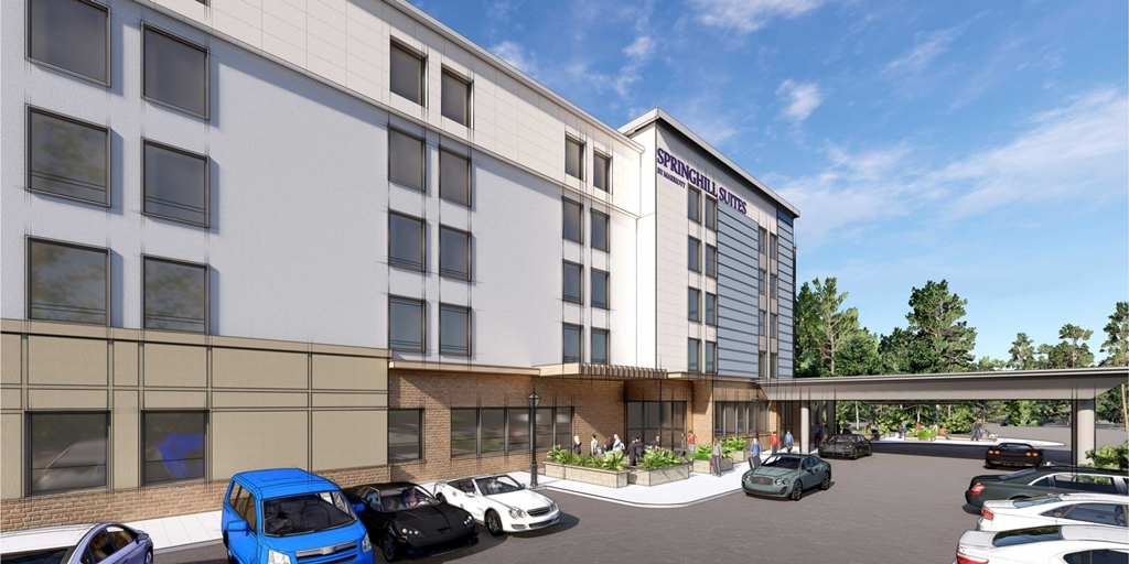 Work starts on SpringHill Suites hotel project in North Carolina