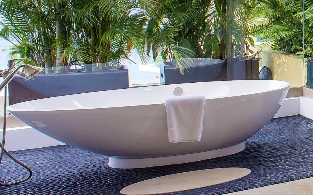 Bringing the outside inside the bathroom