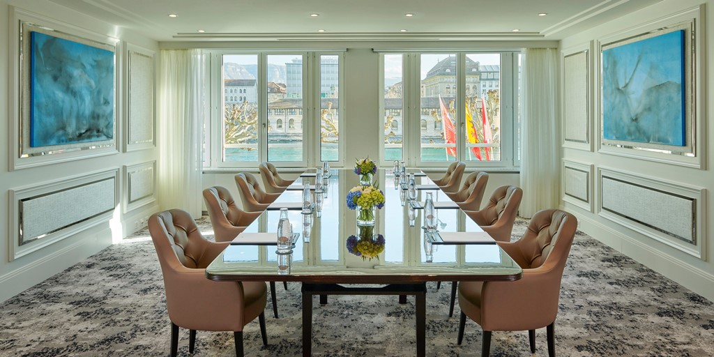 Mandarin Oriental, Geneva spruces up meeting and event facilities