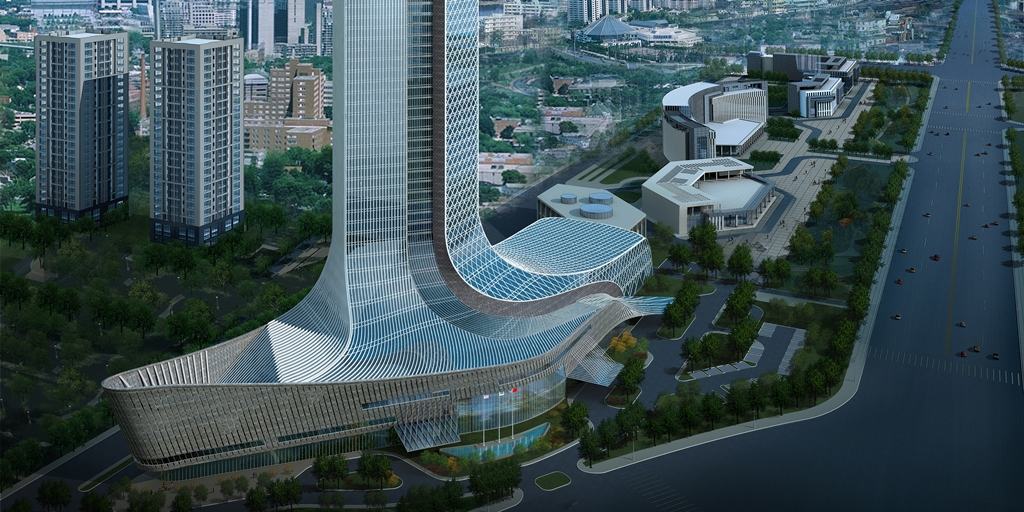Marriott opens eye-popping dual-branded hotel in northern China [Construction Report]