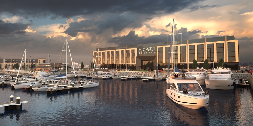 Project in focus: Hyatt Regency Edinburgh Marina