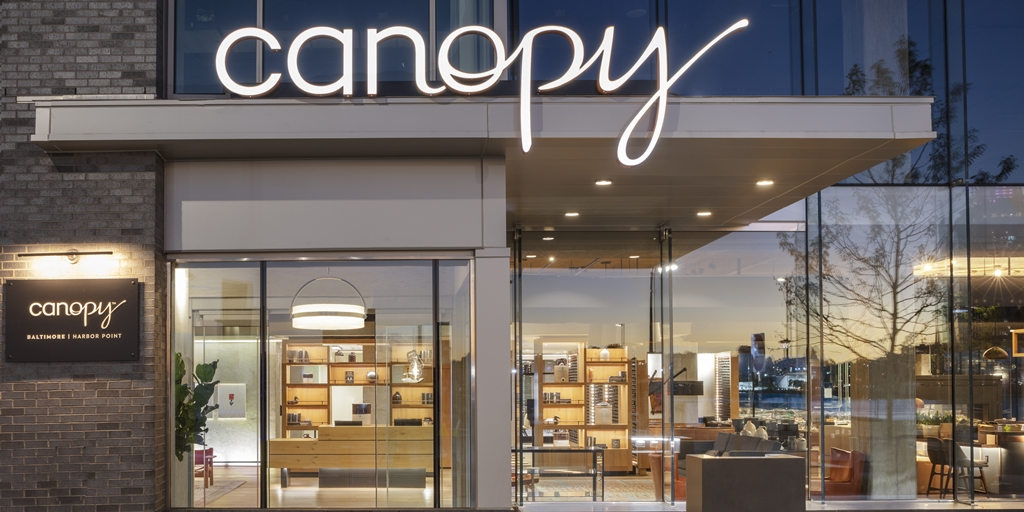 Canopy by Hilton opens in Baltimore's new Harbor Point district