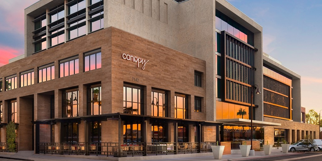 The much-awaited Canopy by Hilton Old Town Scottsdale opens its doors