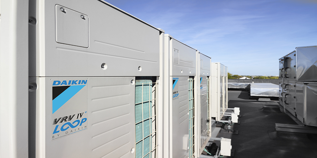Daikin expands circular economy programme: VRV units with reclaimed refrigerant now available across Europe