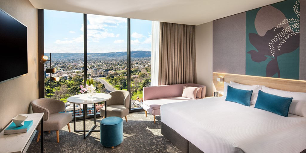 Crowne Plaza hotel launches in Adelaide's tallest building