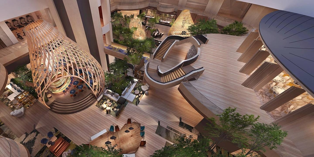 Eye-popping property reopens as Singapore's first 'garden-in-a-hotel'