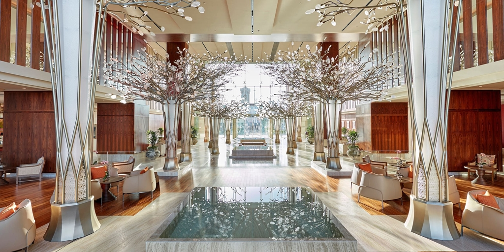 Design concept: Mandarin Oriental Jumeira, Dubai