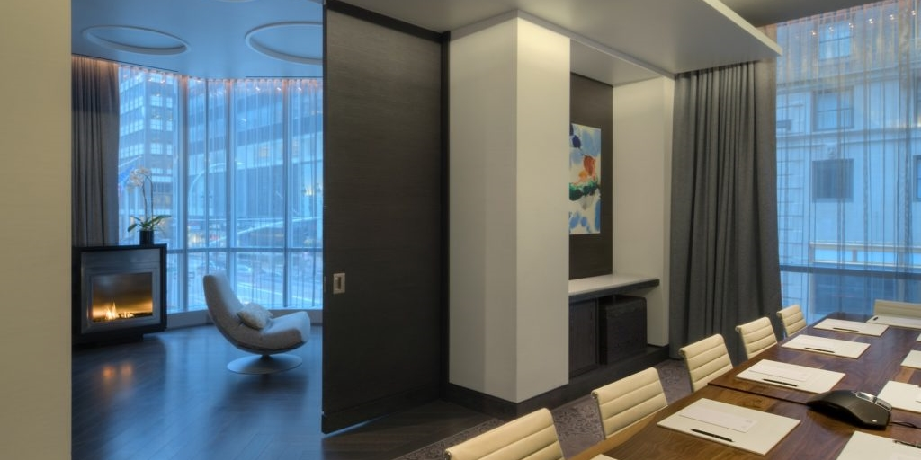 Premium meeting room space planning at a Hyatt hotel – New York