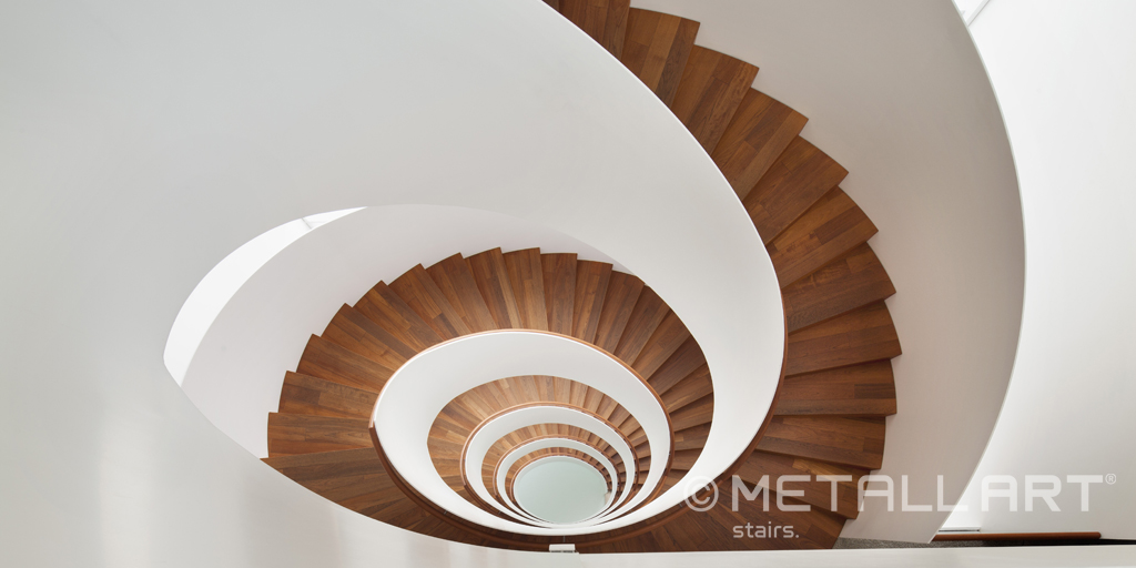 Design stairs by MetallArt in the five-star luxury hotel Riva