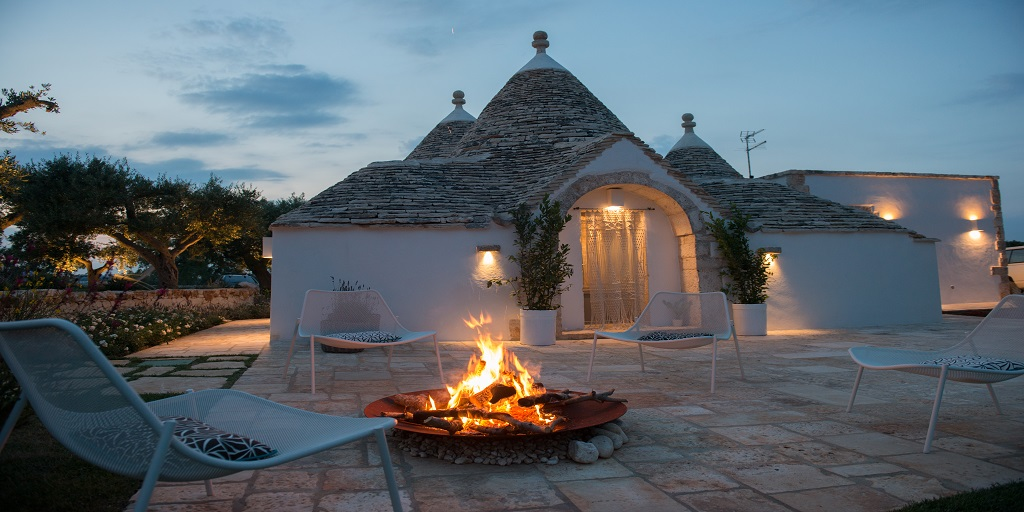 Trullo Ermes and Atena luxury villas