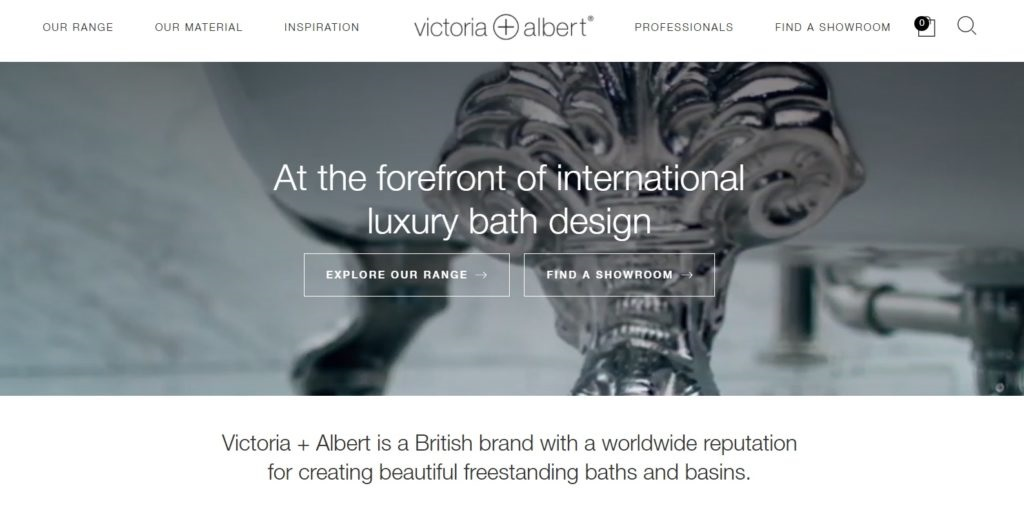 Victoria + Albert launches new international website