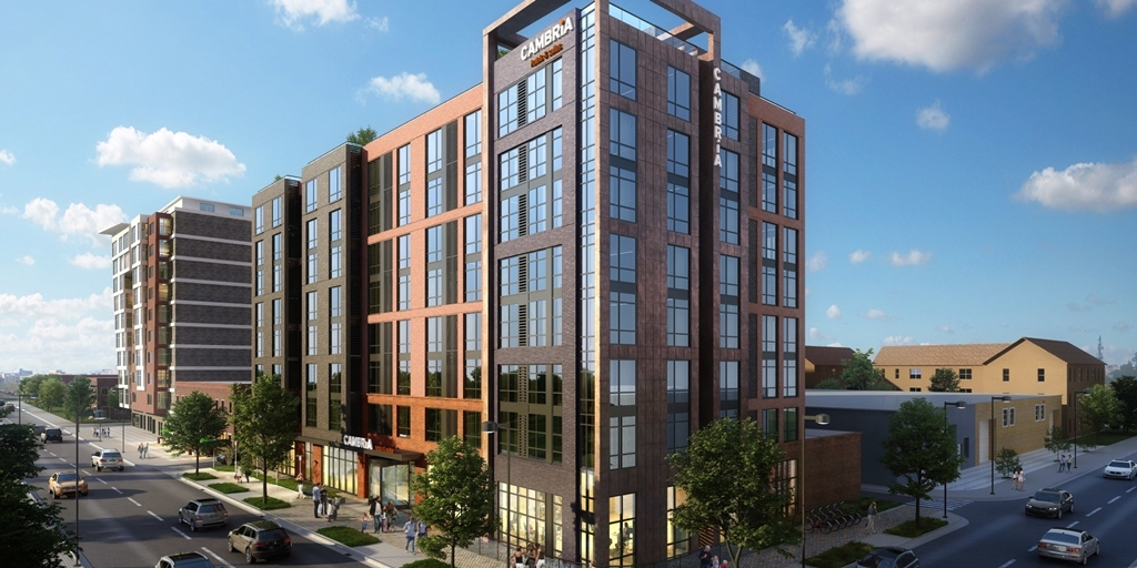 Cambria launches 154-room hotel in Washington DC