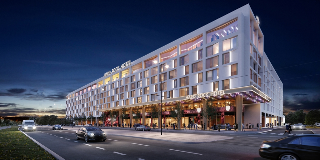 Project of the Week: Hard Rock Hotel Letná Prague