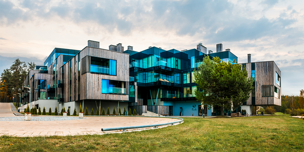 International praise for the project in a Latvian forest: Modern luxury of the future