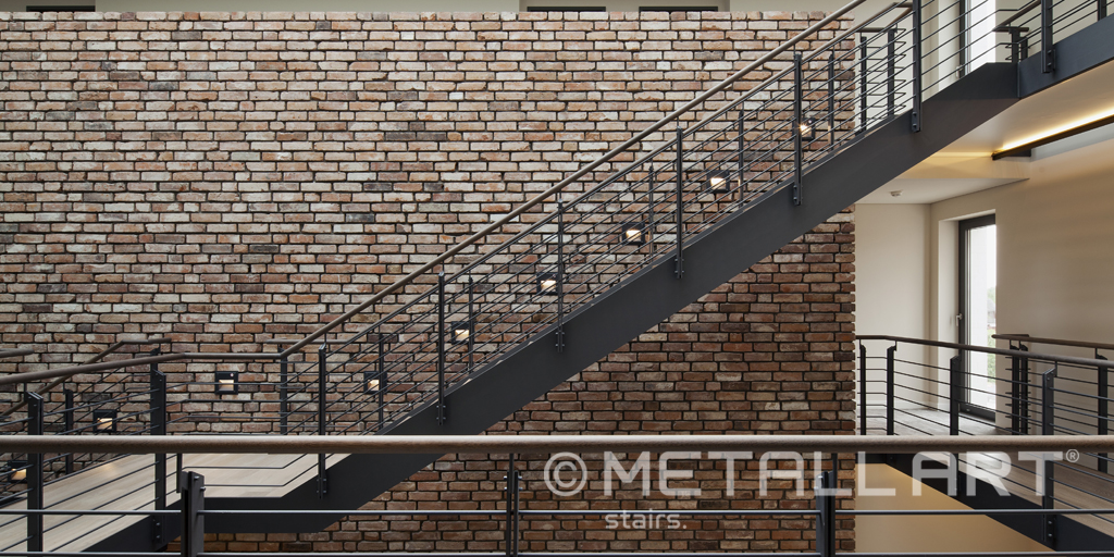 Exclusive staircases by MetallArt in the four-star Zollenspieker hotel