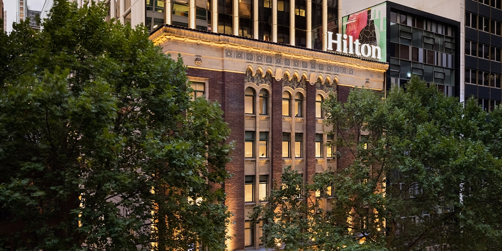 Heritage building transformed into Hilton's new Melbourne hotel