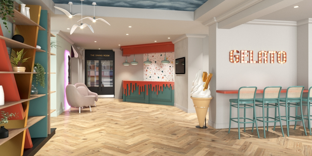 Hampton Design Studios and Accor revamp Bournemouth hotel